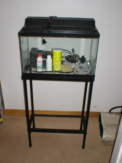 Aquarium stand 10 gallon mixed media series 10 gallon for Fish for a 10 gallon tank