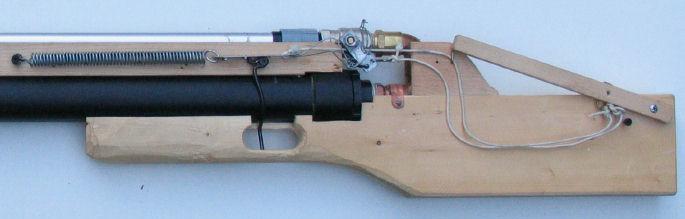Building a marble shooting airgun