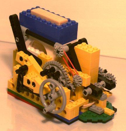Pictures of my lego machine gun