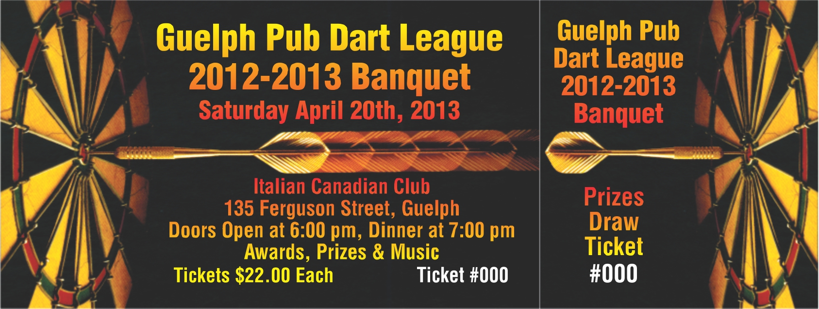 default frame guelph pub dart league